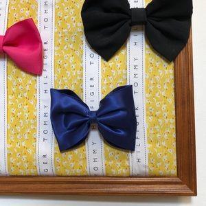 Hair Bow Holder Organization   Handmade